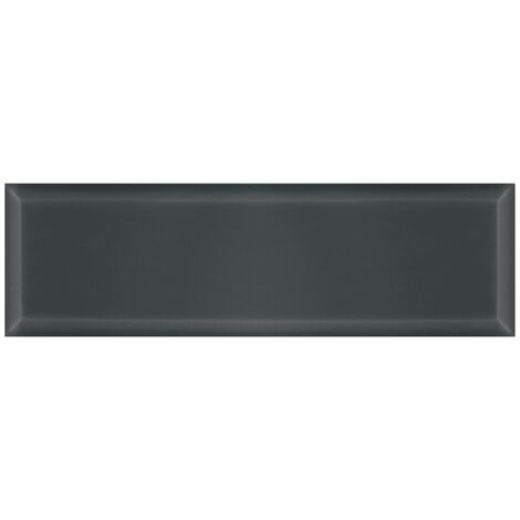V&A Anthracite Bevel Gloss Wall Tiles 148mm x 498mm - Box Of 13 (0.96m2)