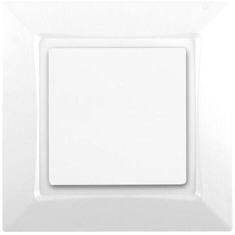 Va et Vient Blanc de la gamme d'appareillage Delta One Siemens - SIEMENS