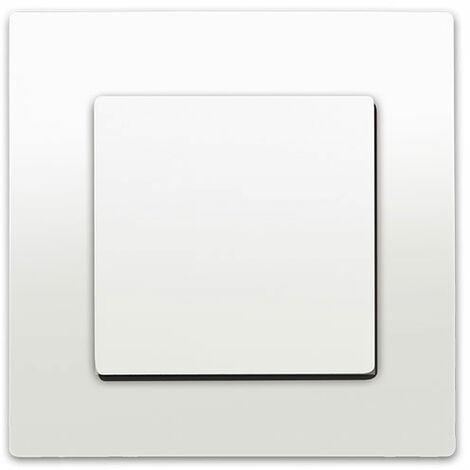 Va et Vient Blanc Delta Viva + Plaque Blanc - SIEMENS