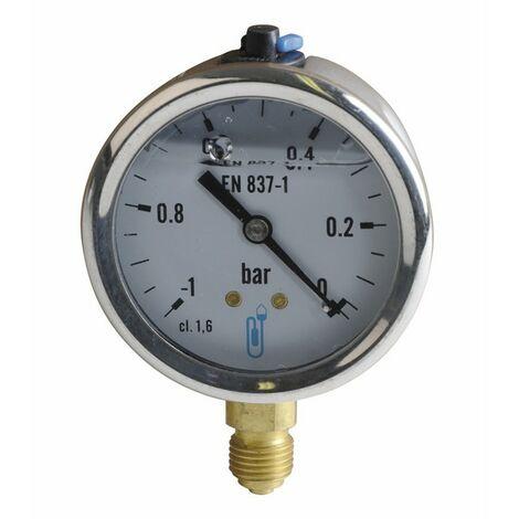 Vacuomètre -1 à 0 b Ø63mm