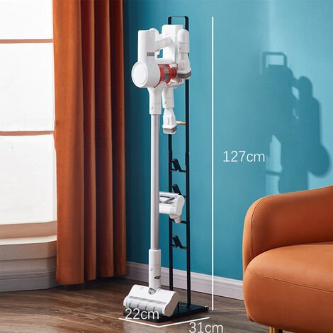 Vacuum Cleaner Stand 127*22*31cm black Floor Rack For Dyson V7 V8 V10 V11 Xiaomi