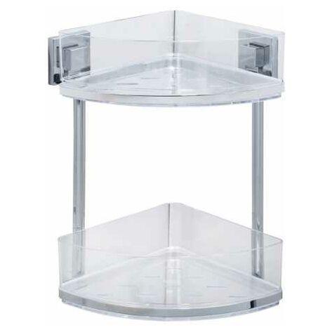 Vacuum-Loc® 2-tier corner rack Quadro WENKO