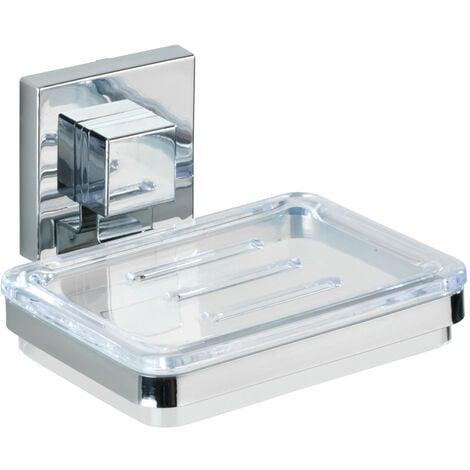 Vacuum-Loc® Edelstahl Seifenablage Quadro Ablage Bad-Accessoire ...
