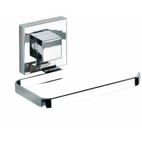Vacuum-Loc® Edelstahl Toilettenpapierhalter Quadro WENKO