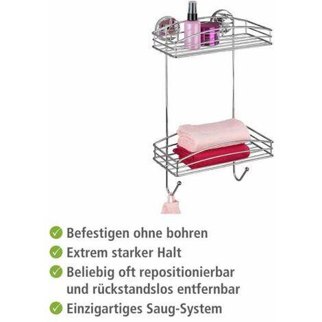 Vacuum-Loc® estantería 2 repisas WENKO