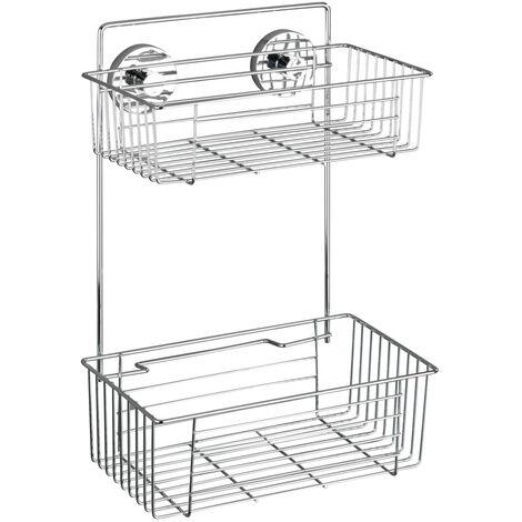 Vacuum-Loc® estantería Bari 2 repisas WENKO