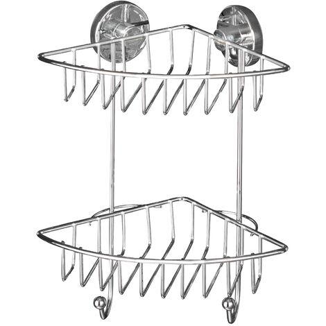 Vacuum-Loc Etagère d´angle Bari 2 niv. WENKO