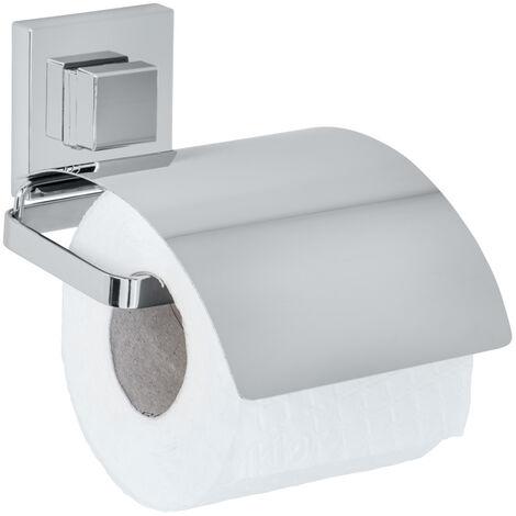 Vacuum-Loc® portarrollos de papel higiénico cover de acero fino Quadro WENKO