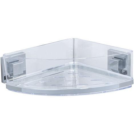 Vacuum-Loc® repisa esquinera de acero fino Quadro WENKO