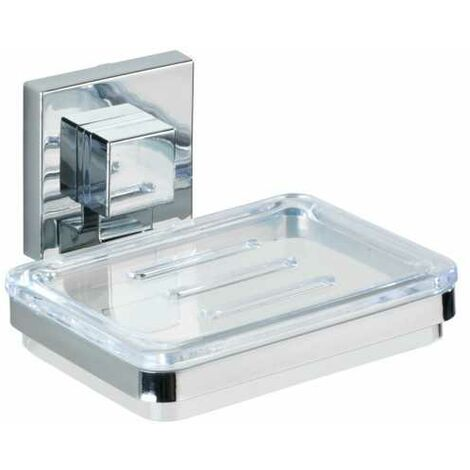 Vacuum-Loc® soap holder Quadro WENKO