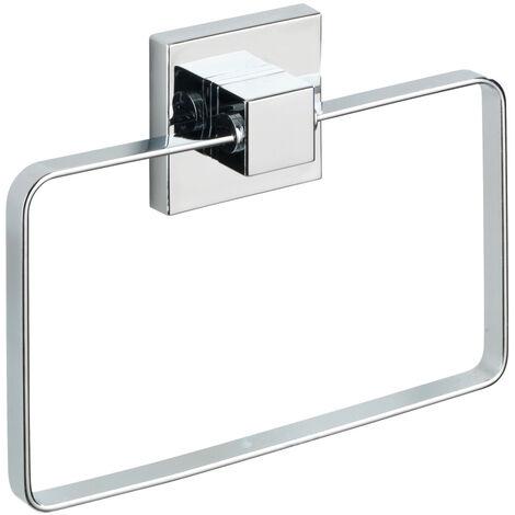 Vacuum-Loc® toallero de aro de acero fino Quadro WENKO