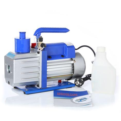 vacuum pump 100L/min aluminium housing Industrial dial gauge compressor air conditioning Handle Air Model making Industry
