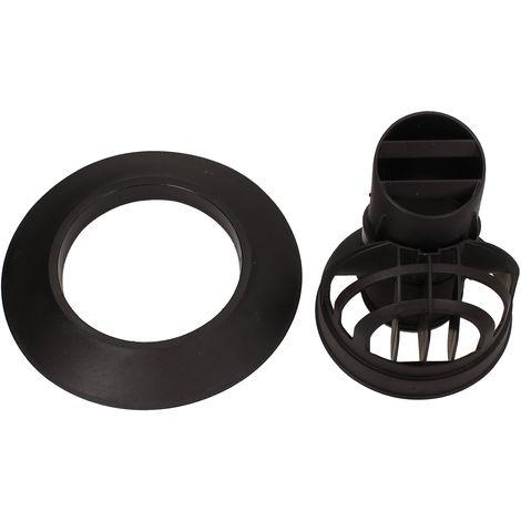 Vaillant Black Kit For Horizontal Flue Duct 0020219537