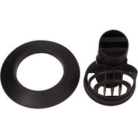 Vaillant Black Kit For Horizontal Flue Duct 0020219537