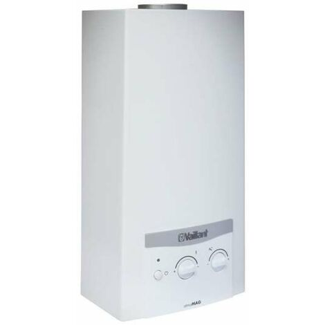 Vaillant Gas-Warmwasser-Geyser atmoMAG 114/1 I Batteriez. Erdgas H/E Durchlauferhitzer 0010022558