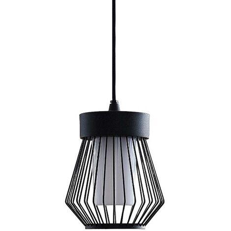 Vajana outdoor pendant light, cage shape
