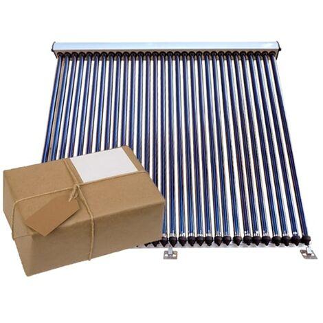 Vakuumröhrenkollektor Solarthermie Paket ETASunPro® VRK20 Solarkollektor Solar 3,10 m², 1 Kollektor a 20 Röhren