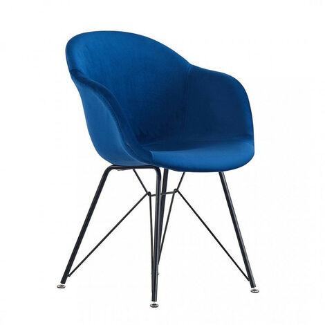 Valentina Velvet Dining Chair (ROYAL BLUE