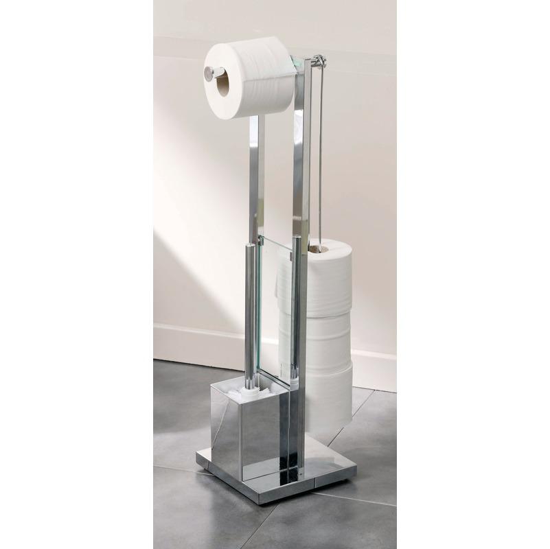 Carbone Serviteur papier toilette avec brosse Wilson Gelco Design