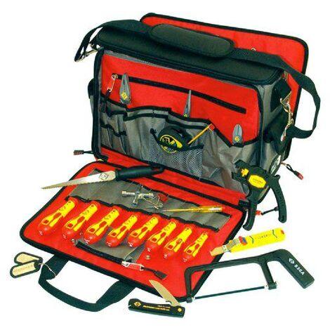 Valise a outils avec equipement - 20 pces
