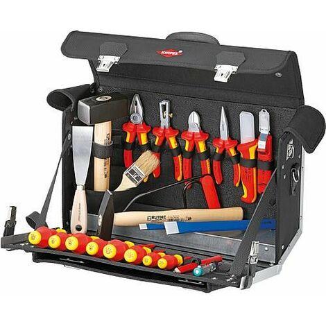 Valise a outils Elektro Dim : 420 x 250 x 160 mm 24 pcs