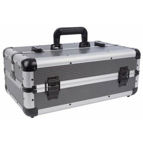 Valise à outils en aluminium - 445 x 265 x 170 mm