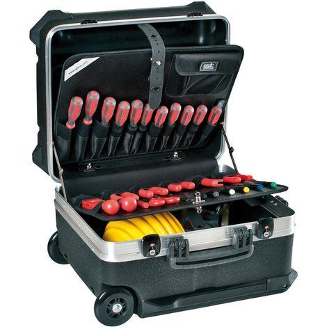Valise à outils Turtle Wheels 470x300x390mm GT LINE 1 PCS