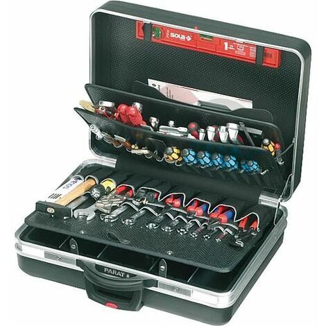 Valise a roulette Classic format King Size - noir 575x220x425mm - type 489.600-171