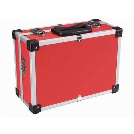 Valise Aluminium 320 X 230 X 155 Mm - Rouge