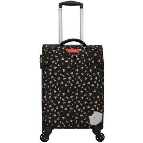 Valise cabine polyester ARUM-E noir