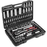 Valise Coffret a outils Malette, 108 pieces avec cles et outils -GREENCUT