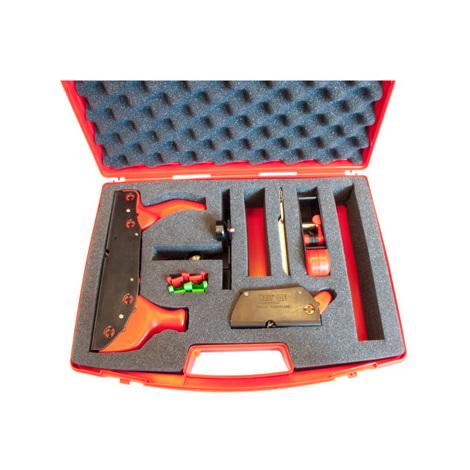 Valise complète avec 3 rabots Monobloc et accessoires