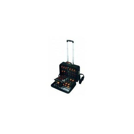 Valise de maintenance a roulettes - dimensions:480 x 240 x h. 460 mm