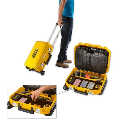 Valise de maintenance à roulettes STANLEY de 100 outils - FMST1-75530