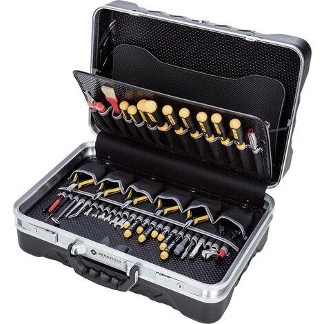 Valise doutillage équipée Bernstein 6100 pour électricien 65 pièces (l x h x p) 460 x 350 x 170 mm 1 set