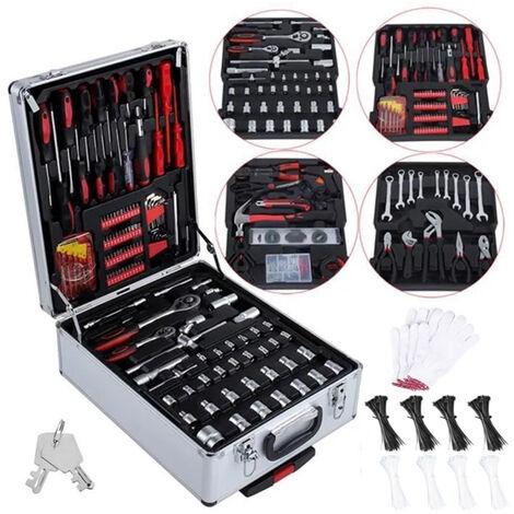 Valise outils et accessoires malette en aluminium avec roulettes 999 pièces HobbyTech