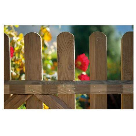 Valla clásica de madera 100x180cm.