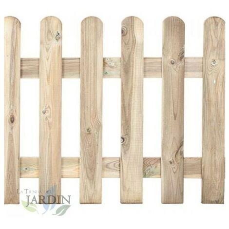 Valla clásica de madera 120 x 210 cm