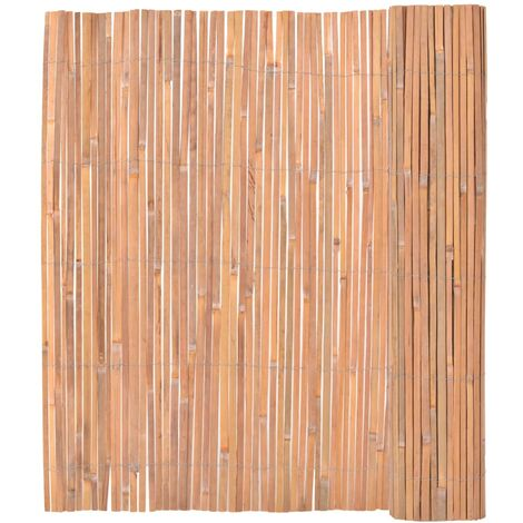 Valla de bambú 150x400 cm
