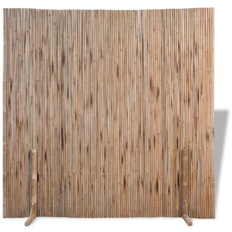 Valla de bambú 180x170 cm