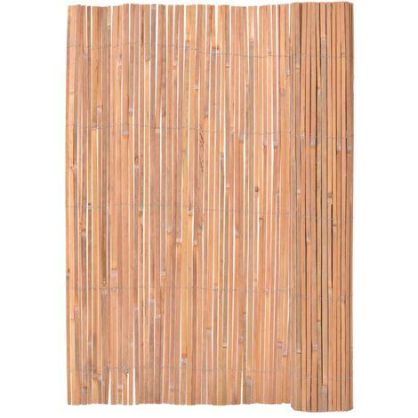 Valla de bambú 200x400 cm