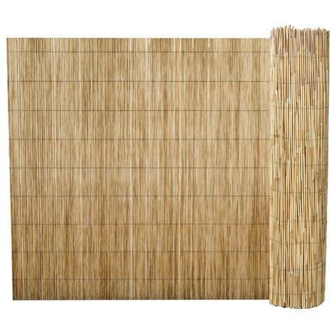Valla de cañizo de junco de jardín 500x170 cm