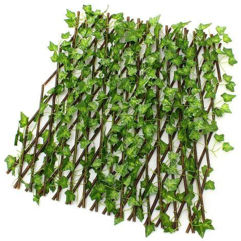 Valla de jardín escalable con follaje Breeze View de 40X70 CM