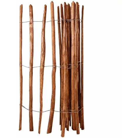 Valla de jardin madera de avellano 150x250 cm