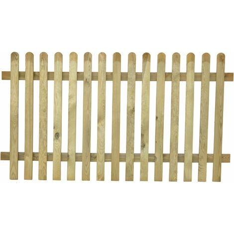 Valla de madera modelo inglesa 100x180