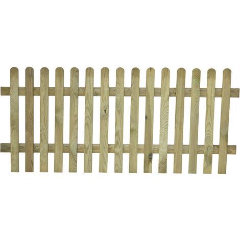 Valla de madera modelo inglesa 80x180