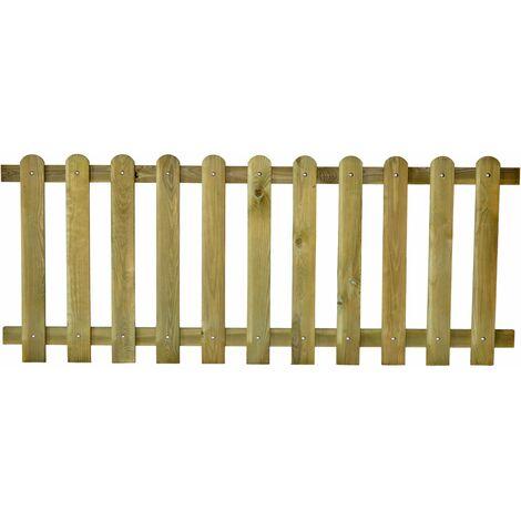 Valla de madera reforzada modelo Parcs 80x200