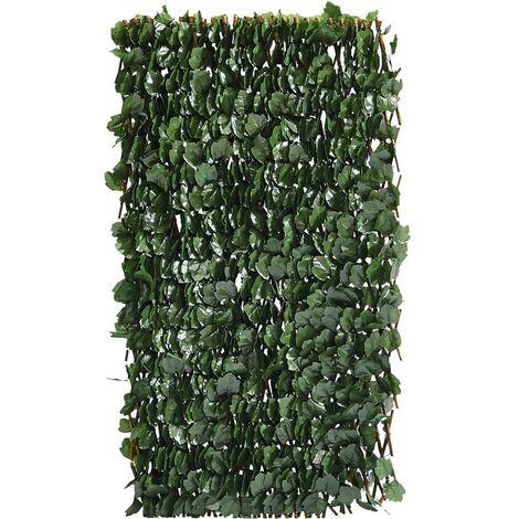 Valla de sauce Fragon - 200 x 100 cm - Verde