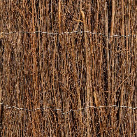 Valla en brande de brezo en rodillo 1,5 x 3 metros