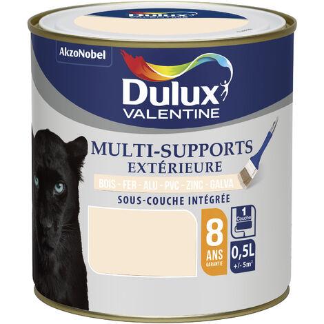 Peinture Multi-Supports Extérieure Satin Blanc Cassé 0,5 L - Dulux Valentine